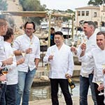 Krug x Fish Chefs Sharing a glass of Krug