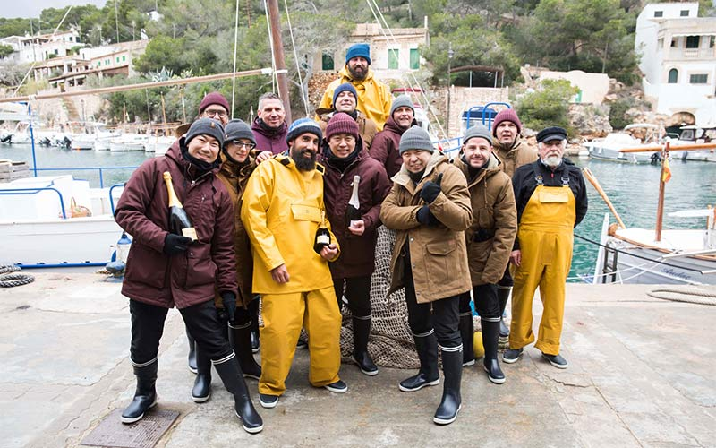 Krug X Fish chefs team