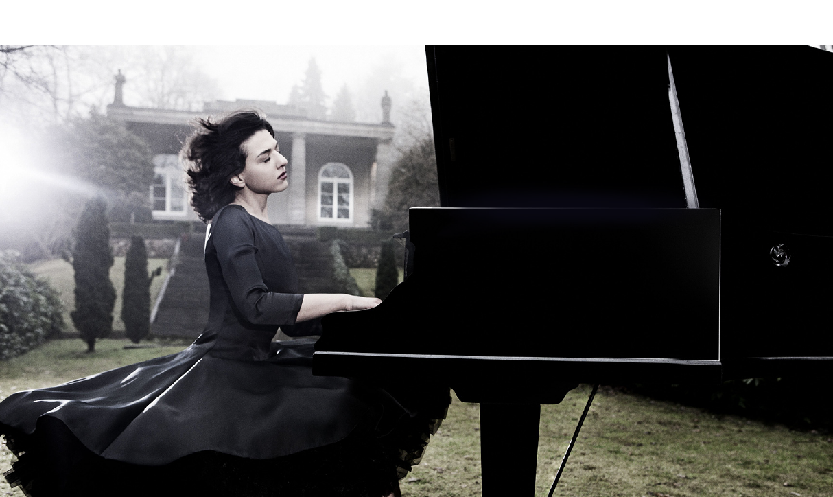 Pianist Khatia Buniatishvili portrait