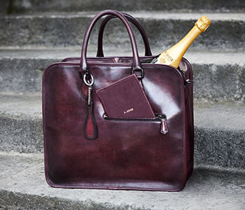 Berluti pour Krug stories push