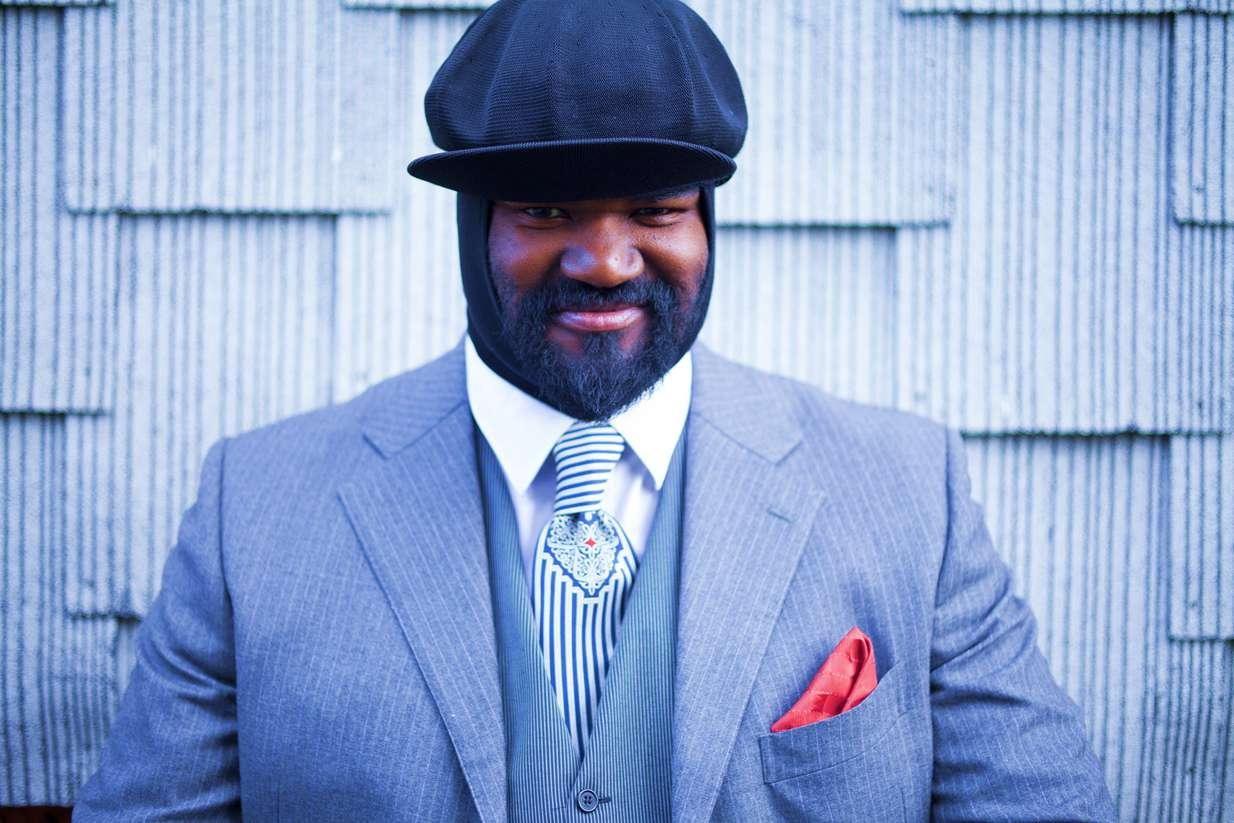 Music pairing Gregory Porter profil