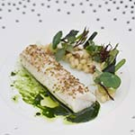 A plate made at Krug x Fish event