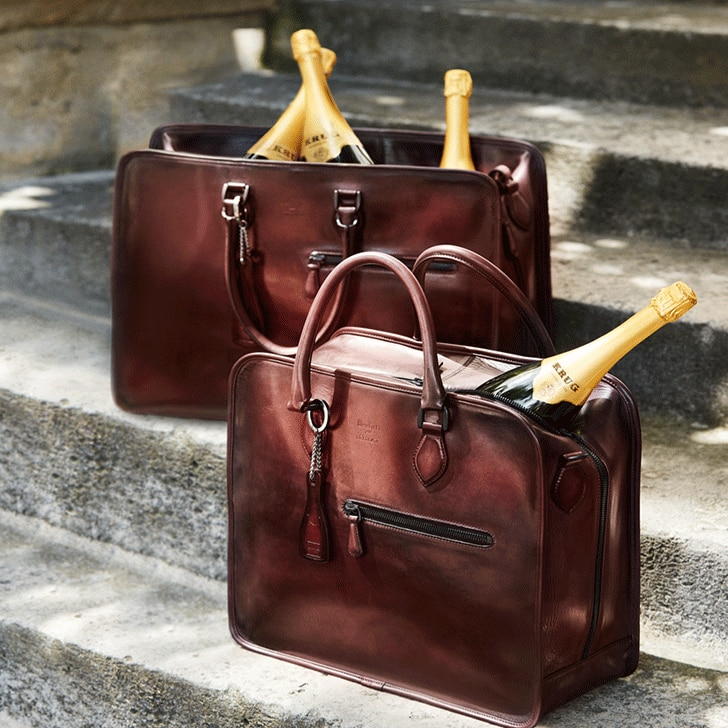 Krug x Berlutti stories visuel duo 1